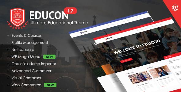 Educon - Education WordPress Theme - Education WordPress