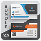 Business Card Bundle 63 - GraphicRiver Item for Sale