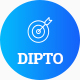 DIPTO - One Page Digital Agency html5 template - ThemeForest Item for Sale