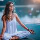 Meditation, Yoga Woman, Nature - PhotoDune Item for Sale