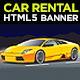 Car Rental & Sales HTML5 Banners Ads - CodeCanyon Item for Sale