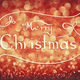 MERRY CHRISTMAS handwriting on red background. - PhotoDune Item for Sale