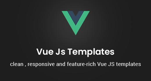 Premium Vue Js Templates