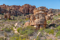 Rock formations and hiking trail at Truitjieskraal in Cederberg Mountains - PhotoDune Item for Sale