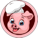 Pig Chef - GraphicRiver Item for Sale
