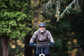 Active senior man with electrobike cycling outdoors on a road in nature. - PhotoDune Item for Sale