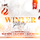 Free Download Winter Flyer Template Nulled
