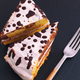 Homemade cake with white and dark chocolate topping - PhotoDune Item for Sale