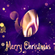 Free Download Christmas Logo Performance with Glitter Particles and Bokeh Nulled