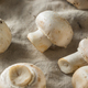 Raw Organic White Button Mushrooms - PhotoDune Item for Sale
