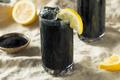 Refreshing Black Activated Charcoal Lemonade Detox - PhotoDune Item for Sale