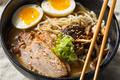Homemade Japanese Pork Tonkotsu Ramen - PhotoDune Item for Sale