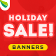 Holiday Sale Web Banner Set - GraphicRiver Item for Sale