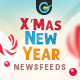 Christmas & New Year Social Media Banner Pack - 20 Banners - GraphicRiver Item for Sale