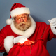 Free Download Santa ties his bag with gifts Nulled
