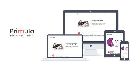 Primula - Bootstrap 4 Jekyll Blog Theme