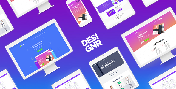 Designr - Ultimate Multi-Purpose Responsive Theme - Creative WordPress