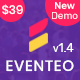 Eventeo - Event & Conference WordPress Theme - ThemeForest Item for Sale