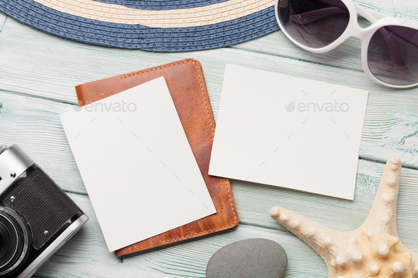 Travel vacation table concept - Stock Photo - Images