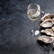 Free Download Oysters with lemon and white wine Nulled