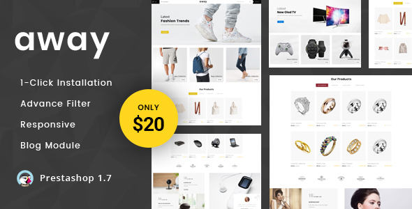 Away - Multipurpose Responsive Prestashop 1.7 Theme