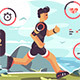 Sports Apps for Fitness - GraphicRiver Item for Sale