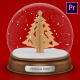 Free Download Christmas Globe - Premiere Pro Nulled