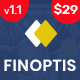 Free Download Finoptis - Multipurpose Business WordPress Theme Nulled