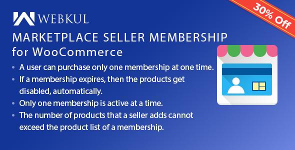Multi Vendor Marketplace Membership for WooCommerce - CodeCanyon Item for Sale