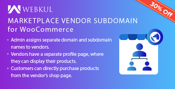 Marketplace Vendor Subdomain Plugin for WooCommerce - CodeCanyon Item for Sale