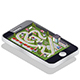 Race Track in the Form of a Mobile Application - GraphicRiver Item for Sale