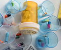 Some medicines next to a block of tickets of dollar, conceptual image - PhotoDune Item for Sale