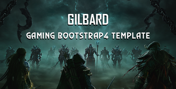 https://themeforest.net/item/gilbard-gaming-bootstrap-4-template/23039565?ref=dexignzone