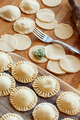 Making ravioli with ricotta cheese and spinach - PhotoDune Item for Sale