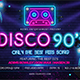 Disco 90's - GraphicRiver Item for Sale