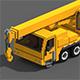 Voxel Crane Truck - 3DOcean Item for Sale