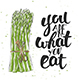 You Are What You Eat - GraphicRiver Item for Sale