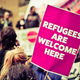 Refugees Are Welcome Street Protestors - PhotoDune Item for Sale