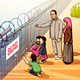 Refugee Illustration - GraphicRiver Item for Sale