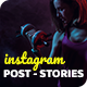 Fitness Instagram Post and Stories - GraphicRiver Item for Sale