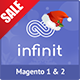 Infinit - magento 2 & magento 1 theme, multipurpose responsive theme - ThemeForest Item for Sale