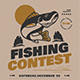Fishing Contest Event Flyer - GraphicRiver Item for Sale