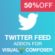 Twitter Feed Addon for Visual Composer - CodeCanyon Item for Sale