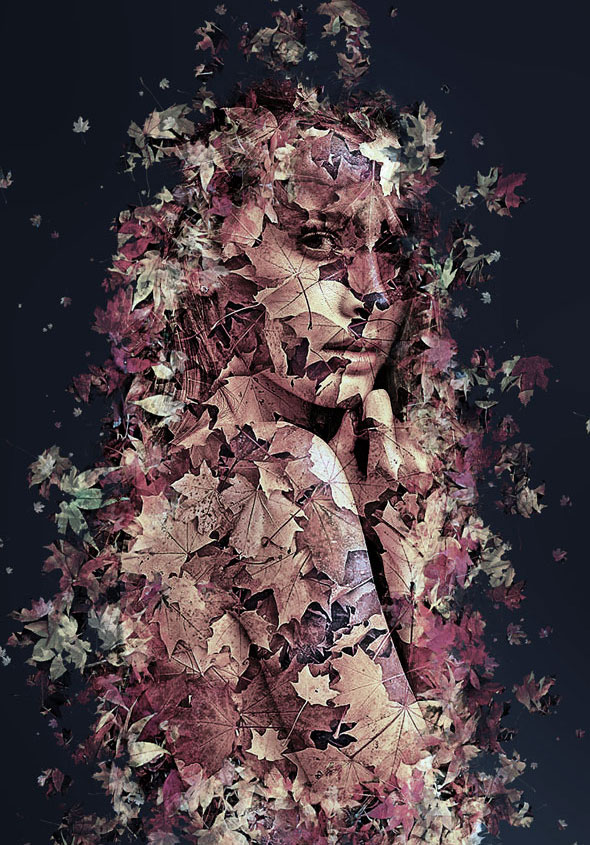 Leaves Photoshop Action by denis154 GraphicRiver