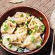 Pelmeni in bowl - PhotoDune Item for Sale