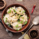 Pelmeni in bowl - PhotoDune Item for Sale