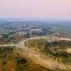 Free Download Okavango delta from the air at sunset Nulled
