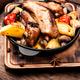 Roasted sliced barbecue pork ribs - PhotoDune Item for Sale