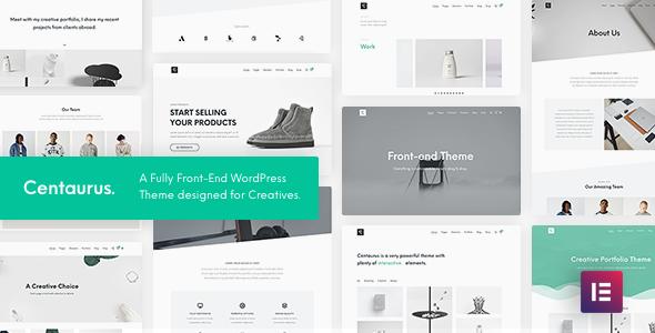 Centaurus - Creative Multipurpose WordPress Theme Nulled