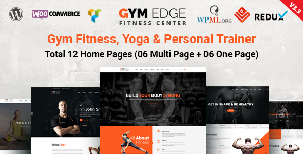 Gym Edge - Gym Fitness WordPress Theme - Health & Beauty Retail